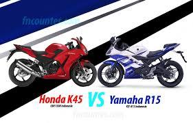 cbr 150r cc honda cbr 150r 2014 k45 vs yamaha r15 persaingan generasi baru
