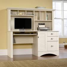 white desk hutch for computer