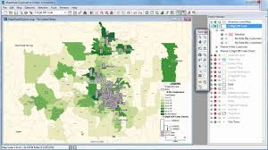 Zip Code Map Denver by Maptitude 2016 Wizard Sales Mapping Zip Code Mapping Heat