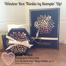 how to hang a window box jessie holton window box thinlits for osat blog hop no rules