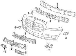 dodge charger oem parts parts com dodge w o srt8 fog lamp opening partnumber
