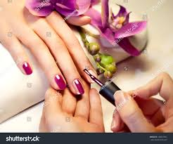 Pink Color Manicure Nail Paint Pink Color Stock Photo 136867901 Shutterstock