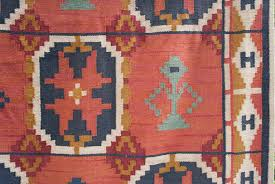 Modern Flat Weave Rugs Large Scandinavian Modern Wool Flat Weave Rollakan Rug With