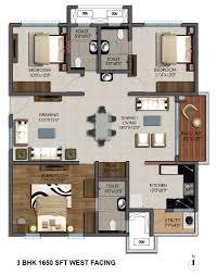 West Facing Kitchen Vastu Tower 2 Details Of 2 Bhk Flats Marina Skies Kukatpally