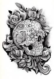 heart and flowers tattoo best 25 feminine skull tattoos ideas on pinterest pretty skull