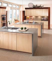 Maple Kitchen In Natural KraftMaid - Natural maple kitchen cabinets