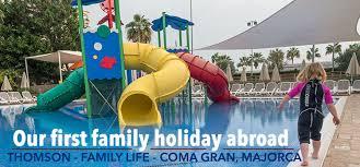 family abroad thomson family hotel coma gran