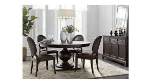 60 dining room table winnetka 60 round dark mahogany extendable dining table reviews