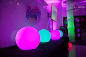 glow balls led glow balls floating globes pool party decorations