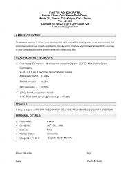 professional objectives examples of career objectives on resume how to write a career