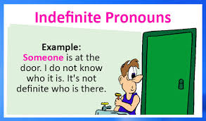 indefinite pronouns definition examples and printable worksheets