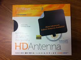 amazon com winegard flatwave amped indoor amplified hdtv antenna