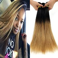 honey weave hair 1b 27 honey root 2 tone colored
