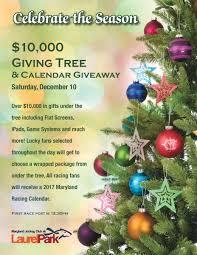 giving tree u0026 calendar giveaway laurel park