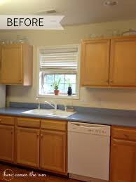 How To Update Kitchen Cabinets by How To Update Cabinets With Contact Paper Here Comes The Sun