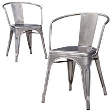 Metal Dining Chairs Style Your Dining Room With Metal Dining Chairs Designinyou Metal