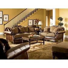 Claremore Antique Living Room Set Claremore Antique Living Room Set Signature Design Furniture Cart