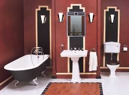 55 best art deco bathrooms images on pinterest art deco bathroom