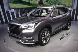 subaru suv concept updated subaru shows off ascent three row suv concept photo
