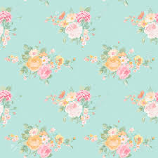 vintage flowers background seamless floral shabby chic pattern