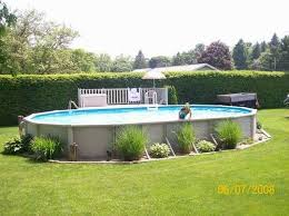 Landscaping Around A Pool by Landscaping Around Above Ground Pools Pools In Ground