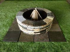 Stone Fire Pit Kit by D I Y Granite Fire Pit Kit Mcm Natural Stone Fire Pit
