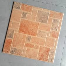 brown color anti slip brick look ceramic tile used for wall and