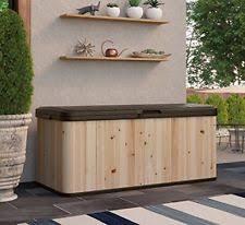 Deck Storage Bench Outdoor Storage Bench Ebay