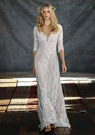 lihi hod wedding dress 2016 lihi hod v neck lace wedding dress sleeves open