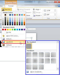 gradient fill for text in powerpoint 2010 powerpoint tutorials