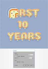 How To Make Your Own Flag How To Create A Celebration Candles Text Effect In Adobe Illustrator
