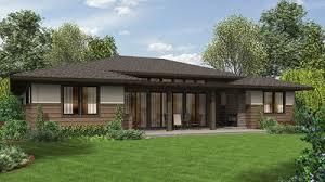 modern prairie house plans 3 bed modern prairie ranch house plan 69603am architectural