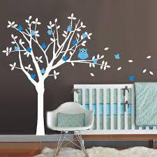 vinyl wall art for kids new nursery vinyl wall decals tree and owl wall sticker kids children
