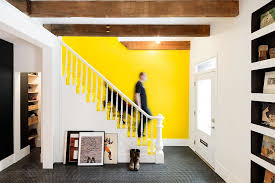 Yellow Accent Wall Trend Alert Yellow Is Making Serious Heatwaves This Summer