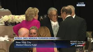 hillary clinton donald trump deliver remarks al smith dinner c