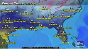 Weather Florida Map by Twc Local Forecast Lutz Florida Very Cold 1 2 10 Hd Youtube
