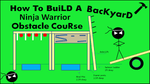 how to build a ninja warrior obstacle course diy youtube