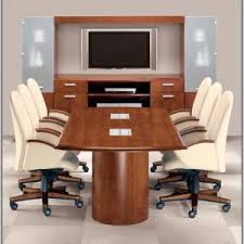 used office conference table and chairs chairs home decorating