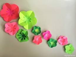 paper flower easy diy paper flowers tutorial diy inspired
