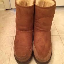 ugg shoes australia brown boots poshmark 78 ugg shoes ugg australia sheepskin boots 5225 size 8