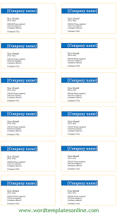 free business card template microsoft word image collections