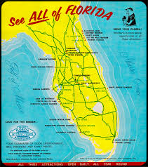 Floridas Map by From Exotic Creatures To Trees With Knees Florida U0027s Original