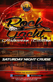 rock the yacht halloween edition the hornblower yacht new