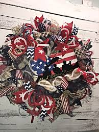 patriotic wreath 4th of july wreath fourth of july wreath