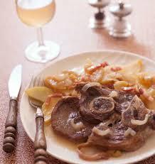 cuisine cocotte minute tranches de gigot d agneau au cidre et lardons cuisson cocotte