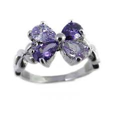compare prices on amethyst engagement floral crystal engagement ring