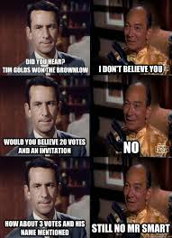 I Don T Believe You Meme - did you hear tim golds won the brownlow i don t believe you would