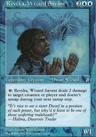 mono blue pingers reveka edh commander edh mtg deck