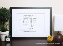 psycho house layout buy a poster of norman bates floor plan