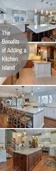 benefits adding an island your kitchen home remodeling